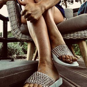 Nu-pieds Swarovski