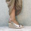 Sandale compensée MAISON VIA ROMA.