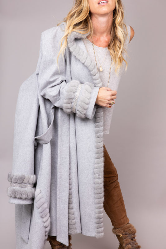 Manteau en cashmere Loro Piana Maison Via Roma
